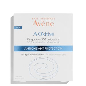 Avene A-OXitive SOS Antioxidant Sheet Mask in Avène Youth Reveal (exclusive kit)