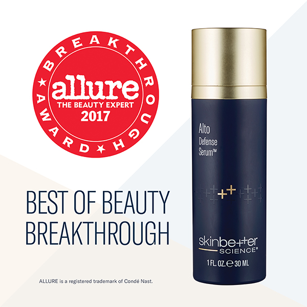 Alto Defense Serum 2017 Allure Award Best of Beauty Breakthrough