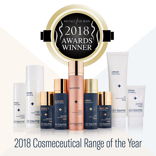 2018 2018 My Face My Body Award Cosmeceutical Range of the Year