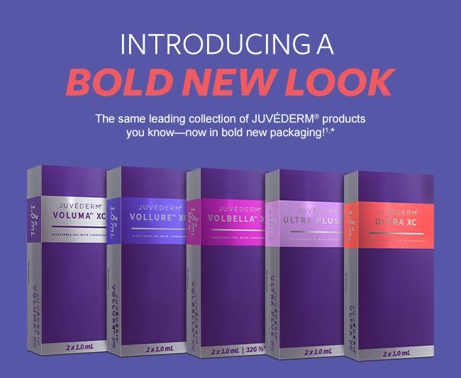 Dermal fillers in Philadelphia New Juvederm Packaging