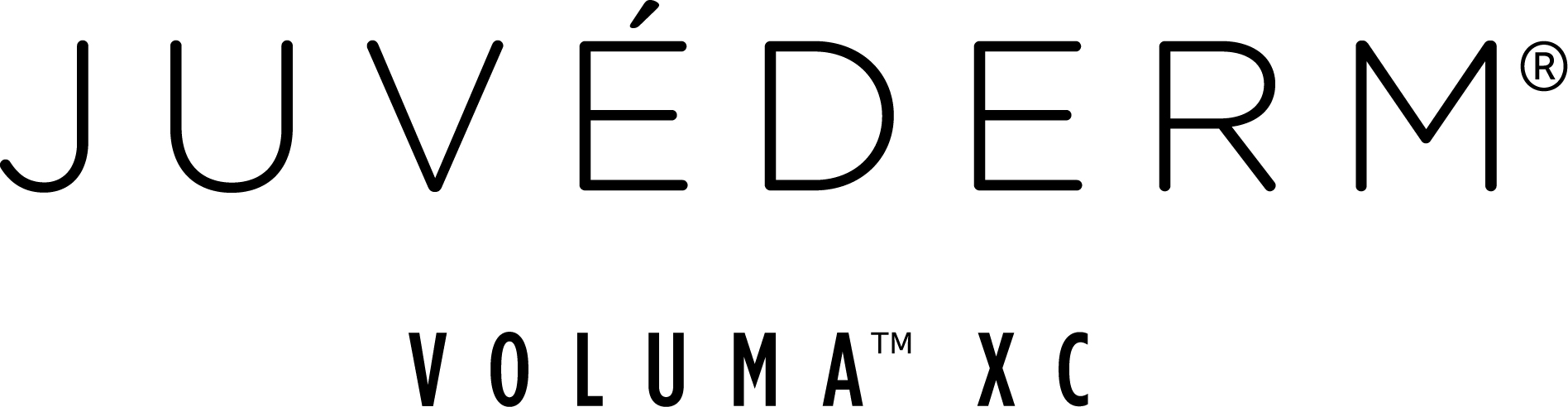 New Juvederm Voluma XC logo