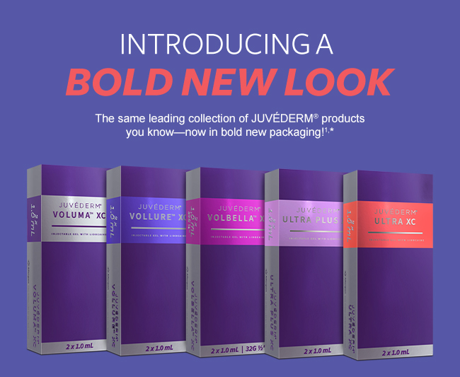 New Juvederm Packaging