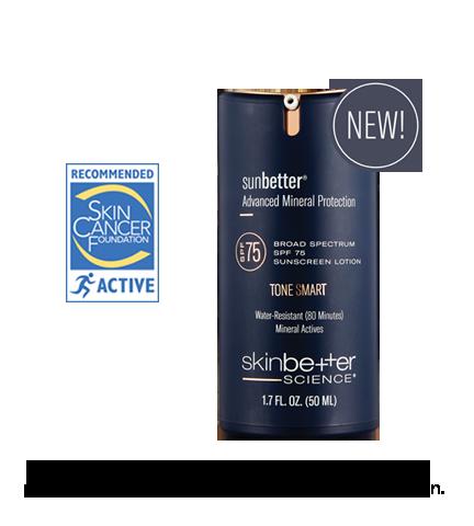 SkinBetter Science Sunbetter TONESMART Tinted Lotion SPF75
