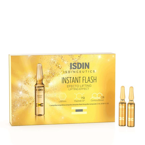 ISDIN Instant Flash Lifting Effect Packaging